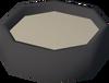 Tin (impression) detail