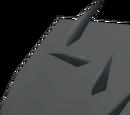 Flattened hide