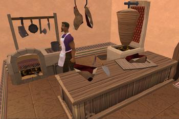 Karim's kebab shop