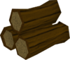 Yew pyre logs detail