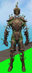 Oaken sentinel outfit equipped