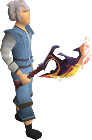 File:Scorching axe equipped.png