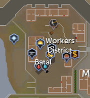 Worker district map