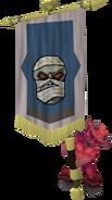 Banner carrier (mummy)