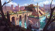 Menaphos upper levels concept art