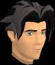 Shadow Ariane's hair chathead (male)