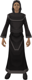 Black robes equipped
