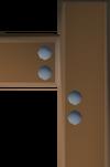 Mahogany catapult part (9) detail