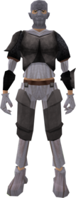 Zombie outfit (New Varrock) equipped