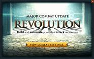 Combat Improvements Beta popup
