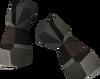 Miner gauntlets (iron) detail