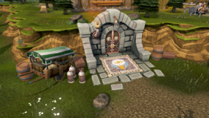 Invention Guild entrance