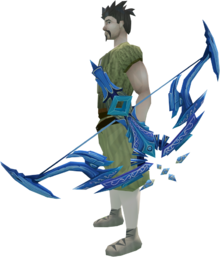 Seren godbow equipped