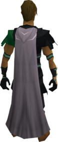 Spirit cape equipped