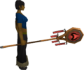 Banner of Zamorak (tier 2) equipped.png