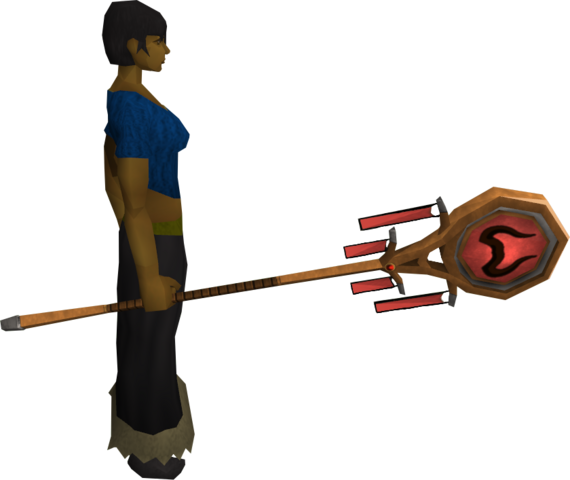 File:Banner of Zamorak (tier 2) equipped.png