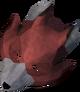 Fox mask detail