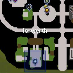 Lord Iorwerth location