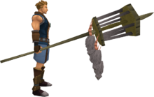 Rat pole (full) equipped