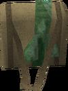 Green satchel detail