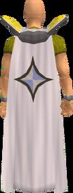 Retro prayer cape equipped