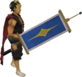 Saradomin flag equipped.png