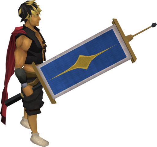 File:Saradomin flag equipped.png