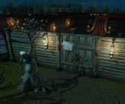 2017 Easter event Dave the Giant Ent