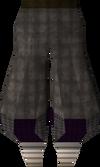 Black elegant legs detail