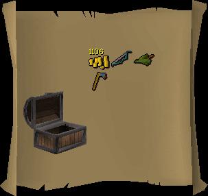 Treasure trail reward interface old