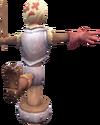 Agility skill training dummy detail
