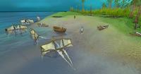 Crash island