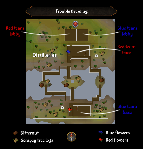 Trouble Brewing map