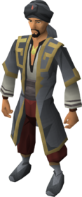 Dervish outfit equipped (male)