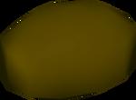 Rotten potato detail