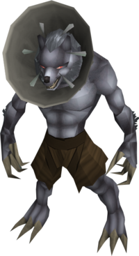 Werewolf (The Lord of Vampyrium - humiliated)