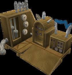 Yewnock's machine