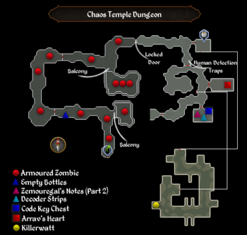 Chaos Temple Dungeon map