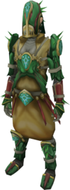 Achto Primeval armour equipped