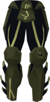Sirenic chaps (barrows) detail