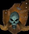 Vengeful kiteshield detail