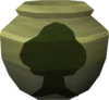 Fragile woodcutting urn (r) detail