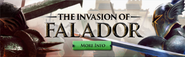 Invasion of Falador lobby banner