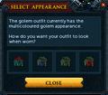 Magic golem outfit recolour interface.png