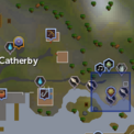 Fish Flingers (Catherby) location