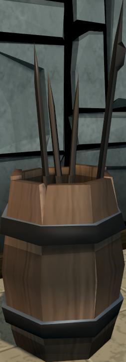 Barrel of junk