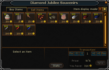 Diamond Jubilee Souvenirs Stock