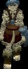 Skeleton thug old