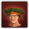 Tropical headdress icon (male)