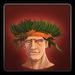 Tropical headdress icon (male)
